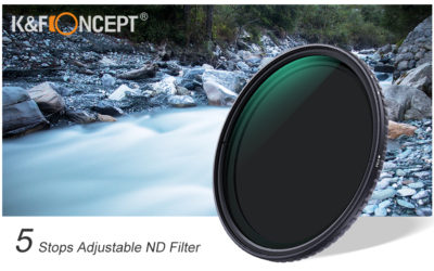 K&F Concept Ultra Slim Variable ND Filter