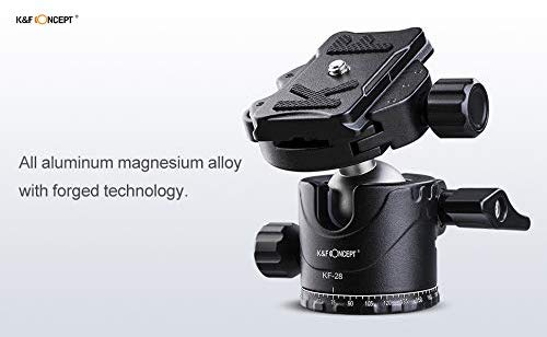 K&F Low-Profile Tripod Ball Head