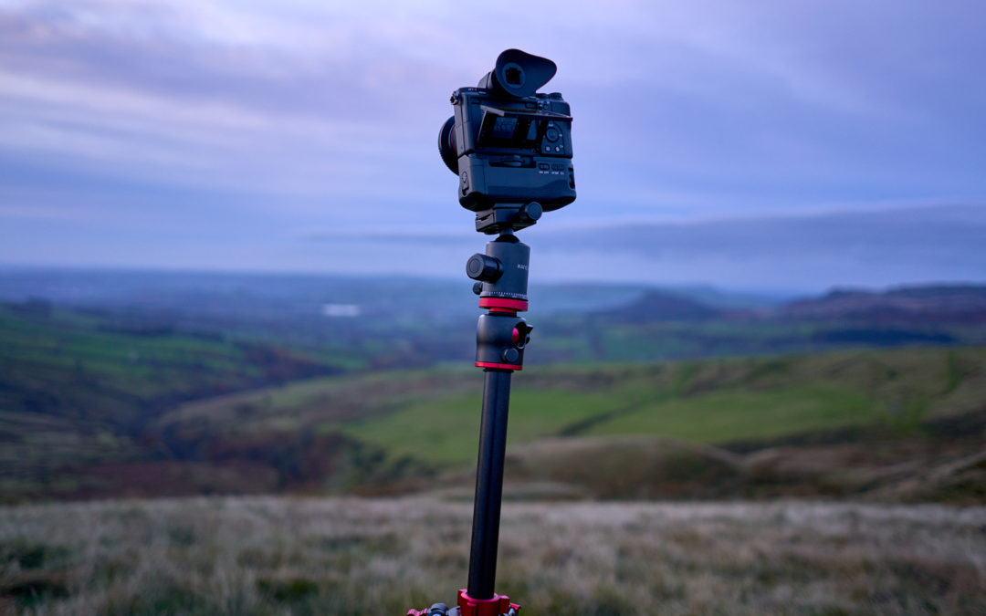 K&F Travel Video Overhead Tripod