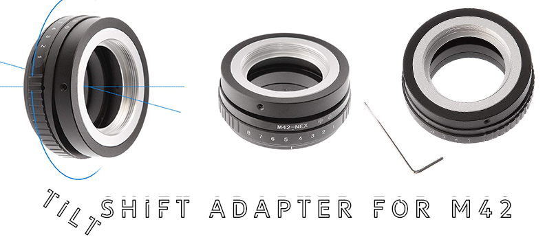Tilt Shift Adapter for M42